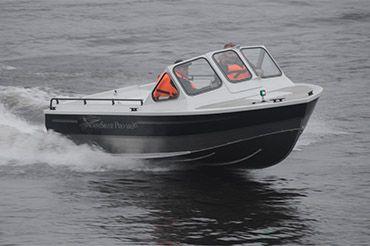 катер для рыбалки с эхолотом и gps