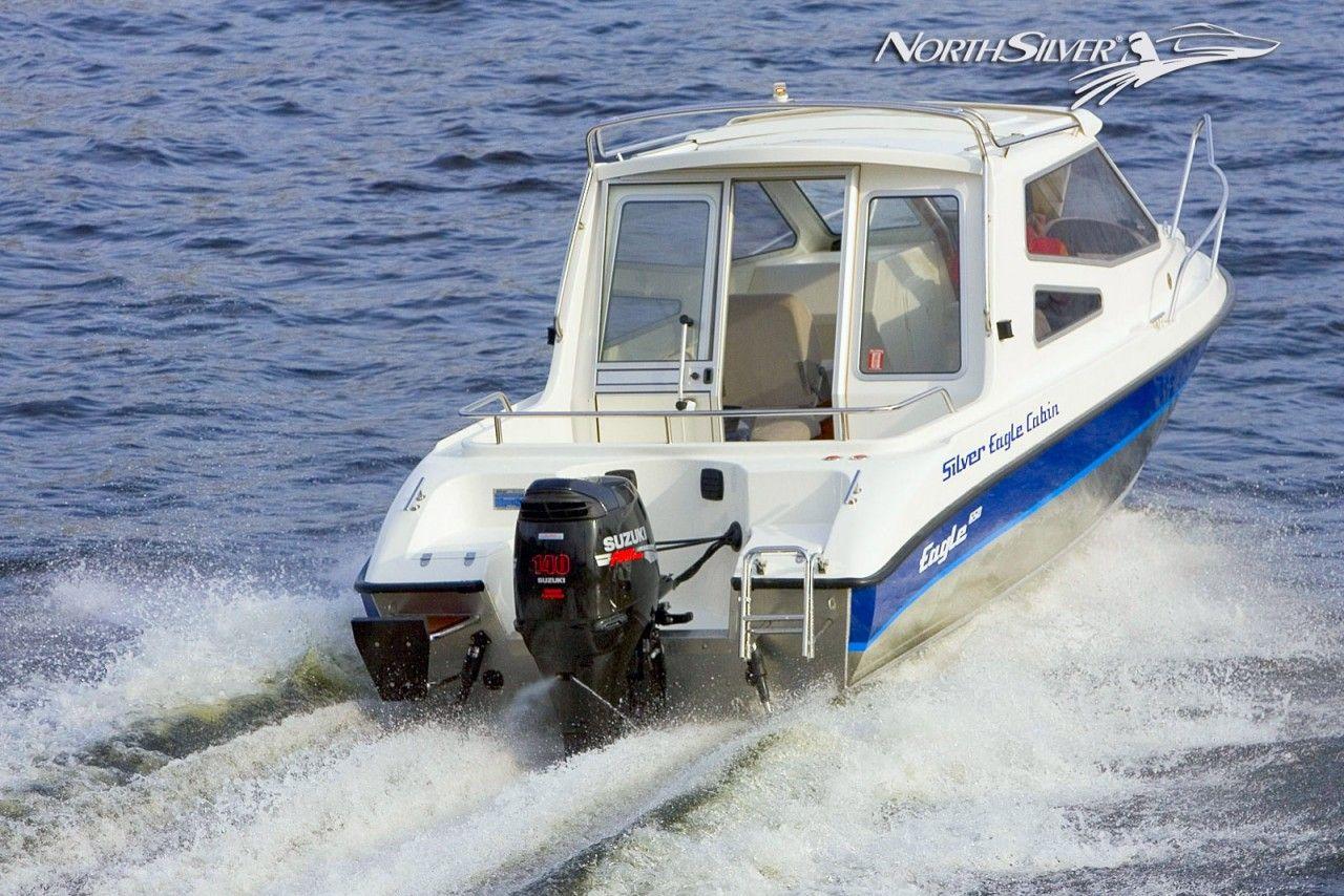 купить лодку сильвер кабин